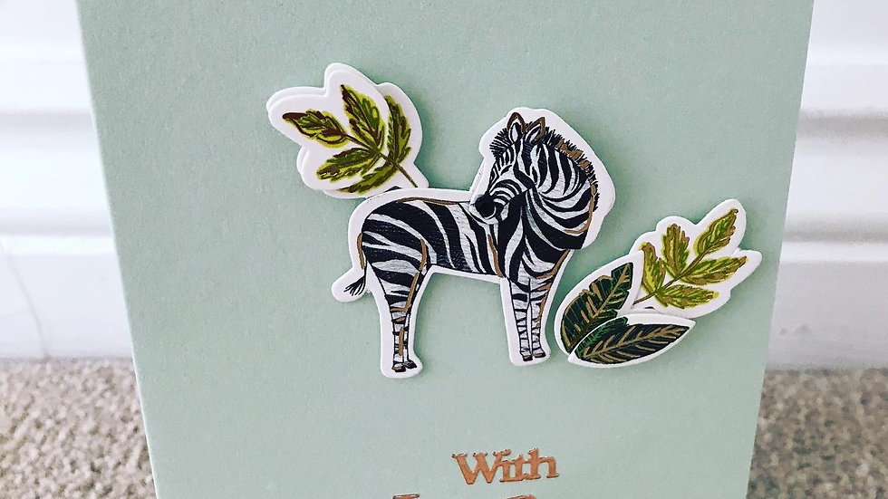With Love Zebra