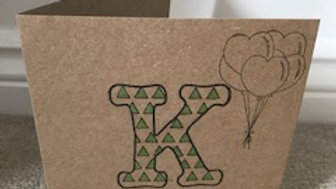 K triangles green metallic