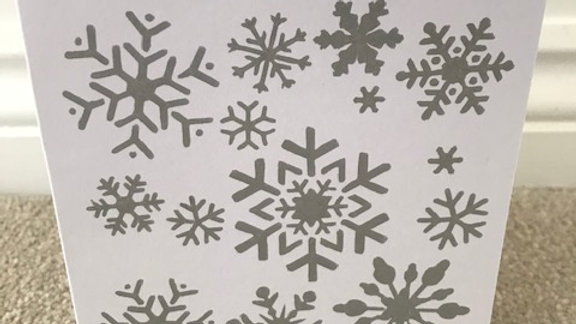 Snowflakes - 5 for £10 'withsanta'