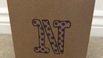 N spot purple metallic