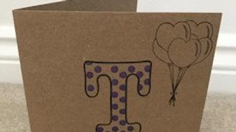 T spot purple metallic