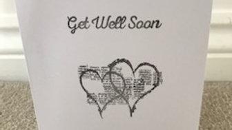 Get well soon heart
