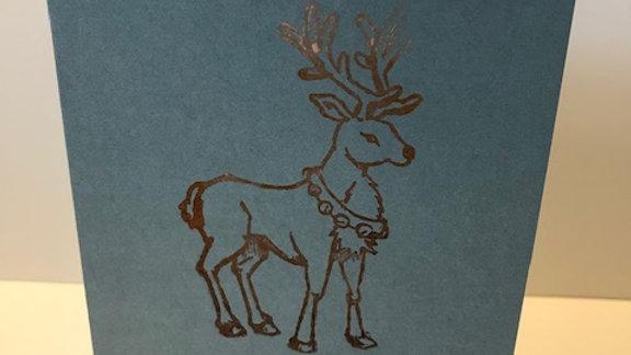 Colour fade deer