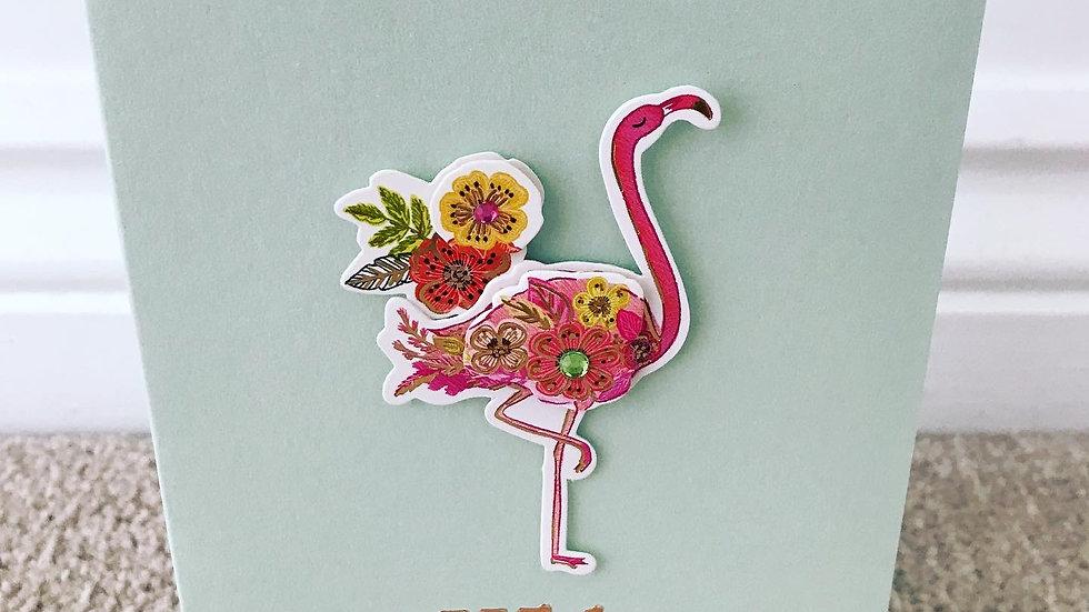 With Love Flamingo