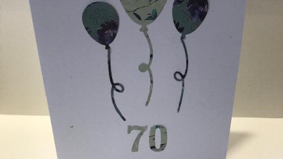70 Milestone Birthday