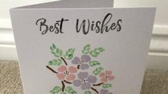 Best Wishes Pink Pastel