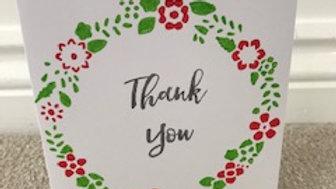 Thank You Wreath