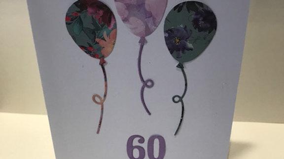 60 Milestone Birthday