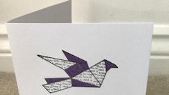 Purple Metallic Bird