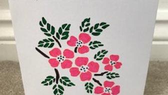 Pink Floral Branch