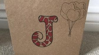 J leopard red metallic