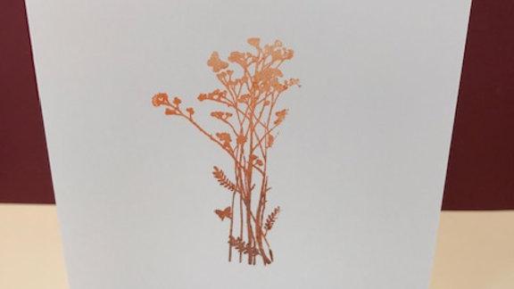 Birthday autumn colour fade plant