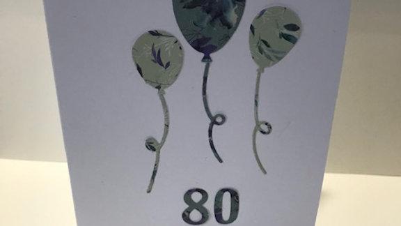 80 Milestone Birthday