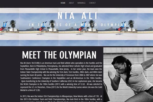 Nia Ali - Olympian
