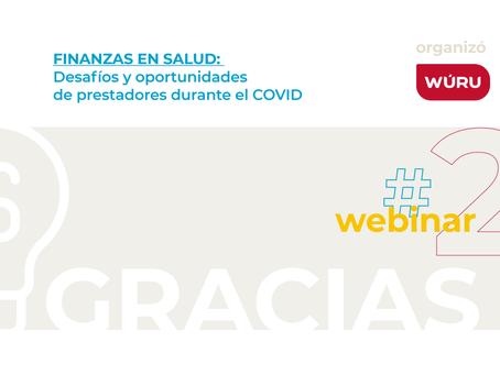 Webinar: Finanzas en salud durante el Covid-19