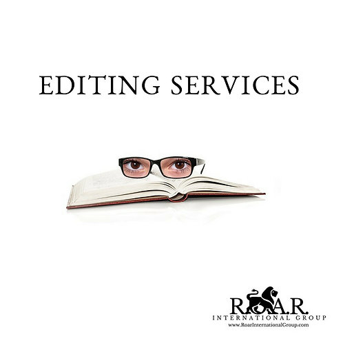 Editing Services Per Page