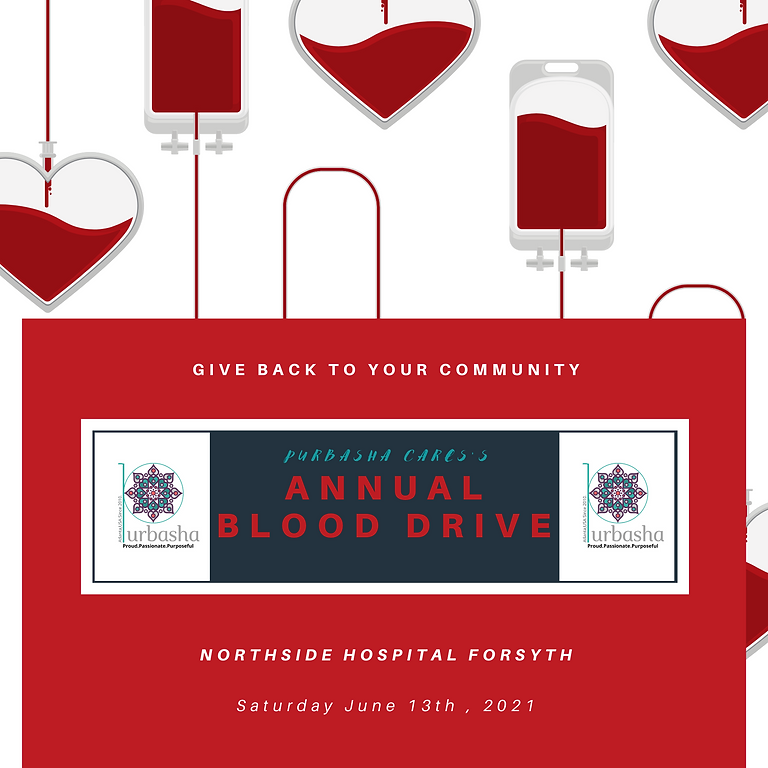 Annual Blood Drive- SAVE a LIFE.