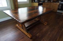 Harvest Table Sawbuck Style Timbercraft