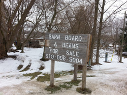 Barn Board and Beams for sale
