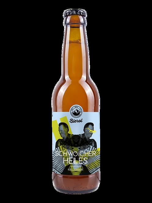 Bierol - Schwoicher Helles 4,9%vol. 0,33l