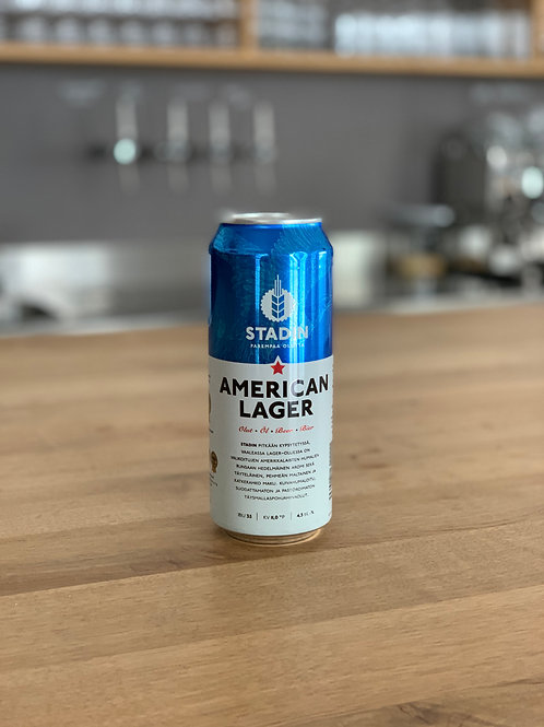 Stadin - American Lager 4,5%vol. 0,33l