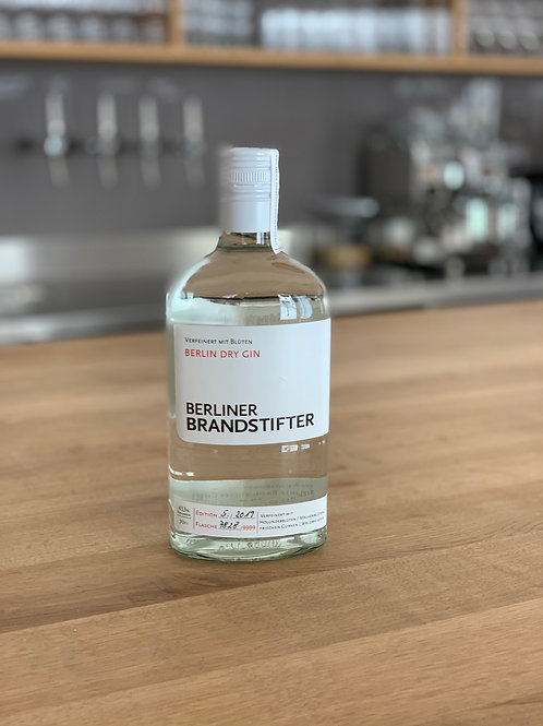 Berliner Brandstifter New Western Gin 43,3%vol. 0,7l
