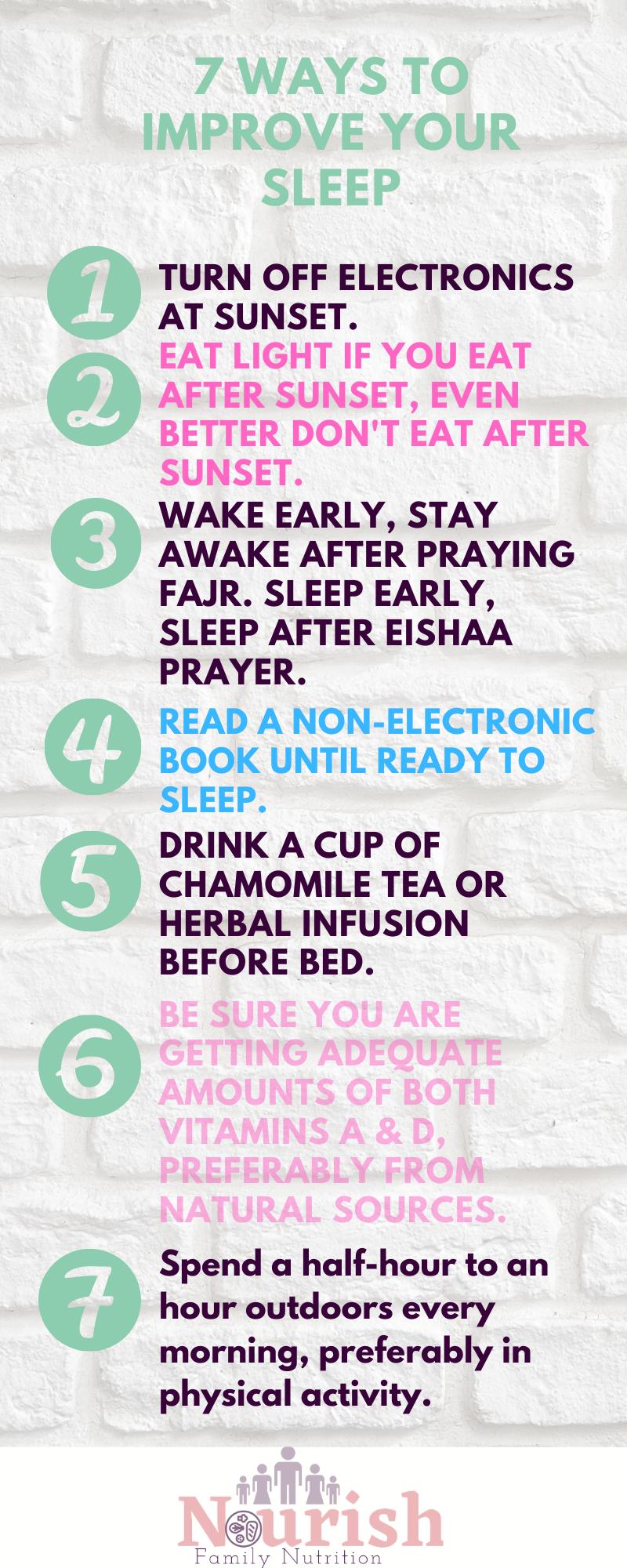 Nutrition & Sleep