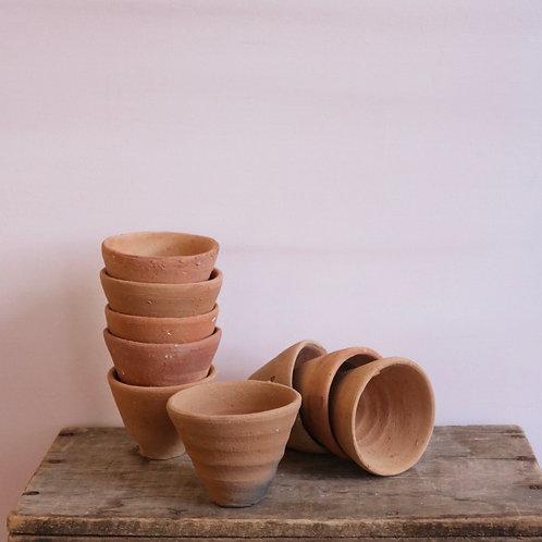 Petite Handmade Terracotta Pot