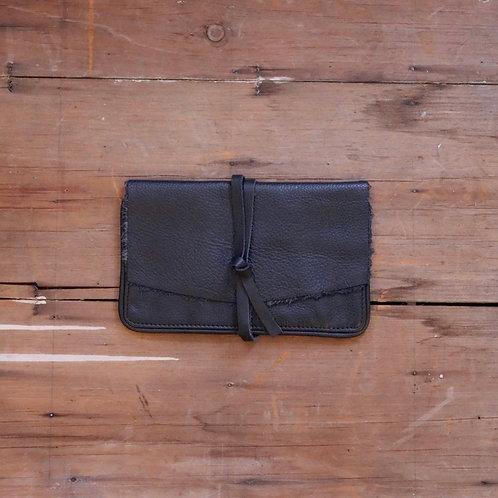 Black Wrap Wallet