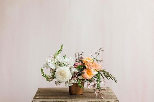 flowers in petite vase | Bloom Floral Design | Charlevoix