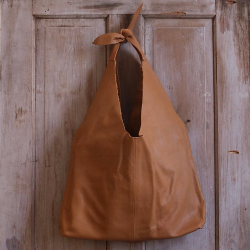 Caramel Tied Tote