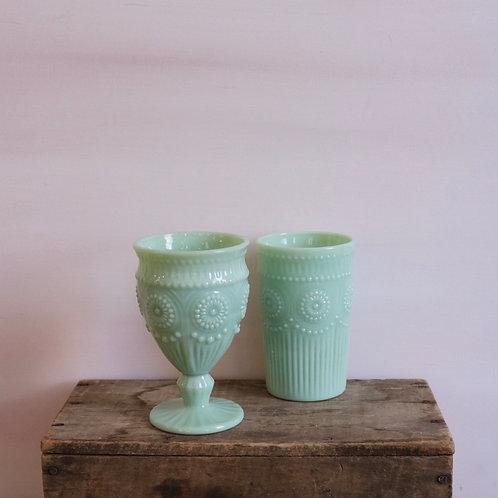 Jadeite Glassware