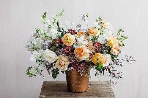 Flowers in Grande Vase | Bloom Floral Design | Charlevoix