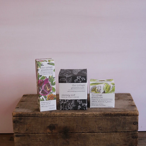 The Cottage Greenhouse Spa Collection