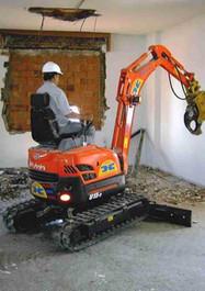 Demolición de interior