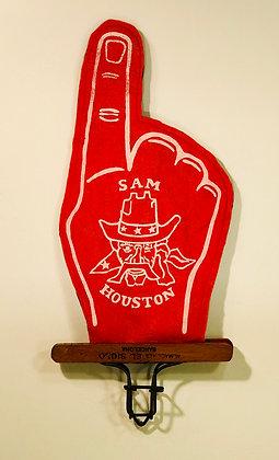 Sam Houston Wild West Show Felt Finger