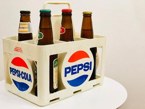 Vintage Pepsi & beer bottle carrier