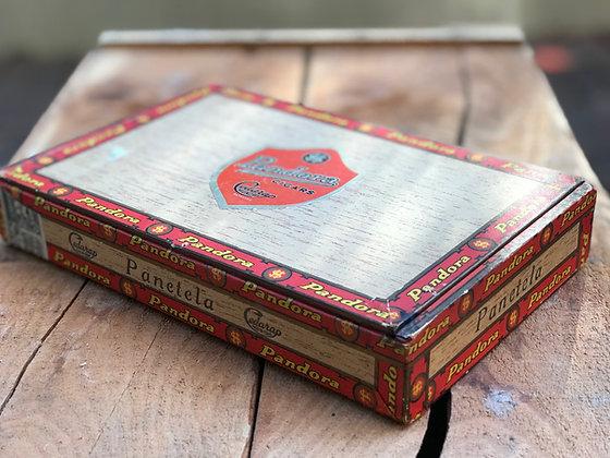 Pandora Wooden Cigar Box