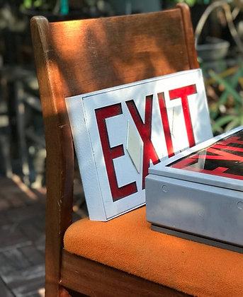 Exit light box from Empire Landmark hotel [Cloud 9]