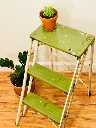 3 Step metal stepladder