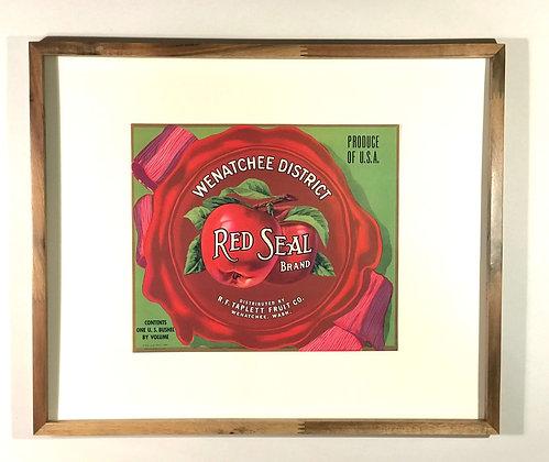 Red Seal Brand Apples, Wenatchee District