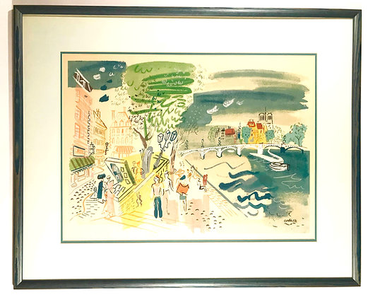 Charles Cobelle Lithograph Print [numbered]