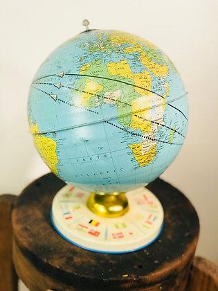 Table Top Vintage Globe