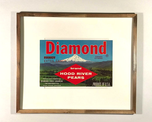 Diamond Brand Hood River Pears