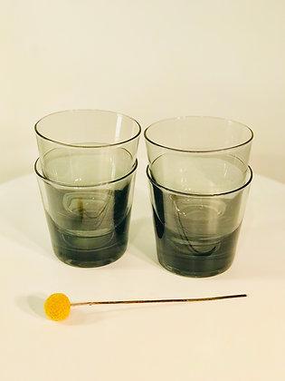 Vintage Bareware Set of Highball Glasses x4