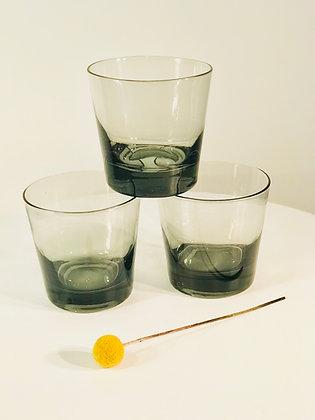 Vintage Bareware Set of Highball Glasses x 5