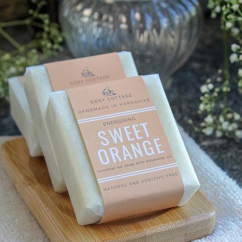 Energising Sweet Orange Soap 110gr