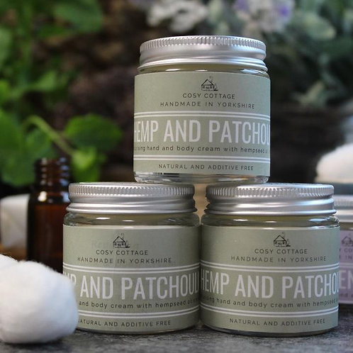 Therapeutic Hemp & Patchouli Hand & Body Balm 30ml