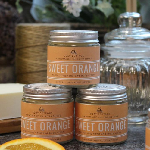 Energising Sweet Orange Hand & Body Balm 30ml