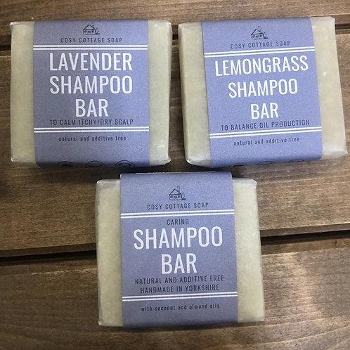 Caring Lemongrass Shampoo Bar 110gr